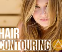 hair contouring card
